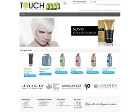 Touch Web Shop